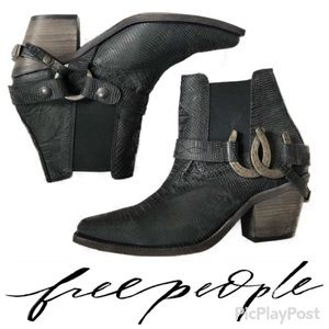 NEW! Free People Lady Luck Ankle boots